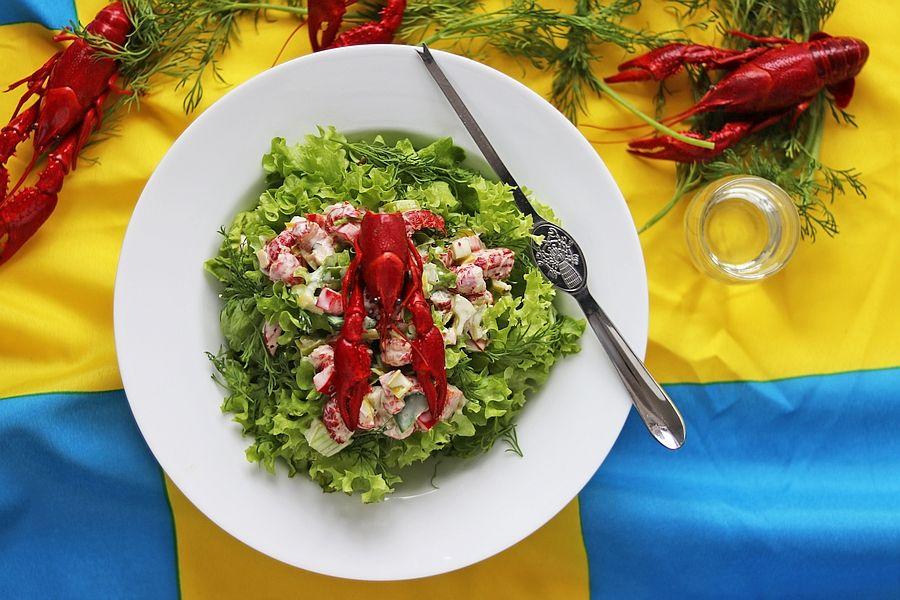Krabbensalat - Rezept | Gourmetköchin Petra Braun-Lichter