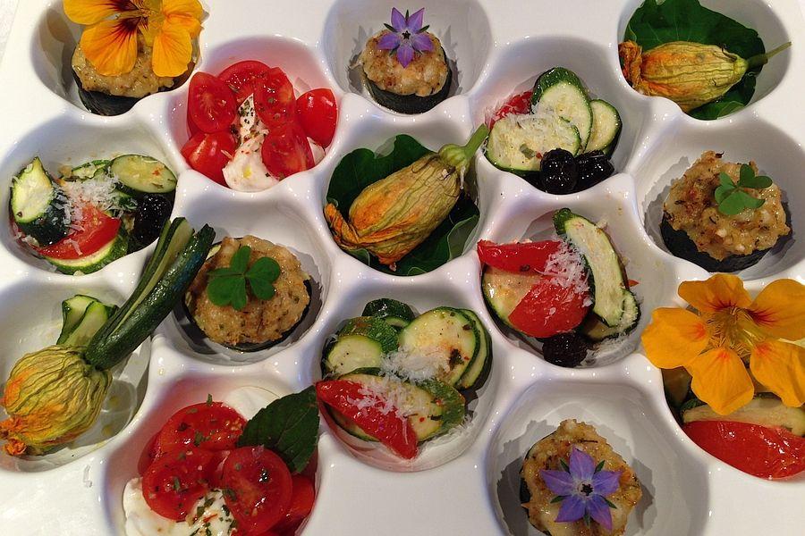 Antipasti für den Sommerabend - Rezept | Gourmetköchin Petra Braun-Lichter