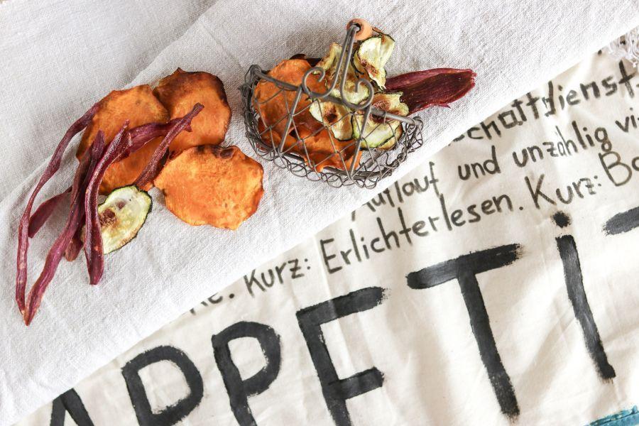 Gemüsechips - Rezept | Gourmetköchin Petra Braun-Lichter