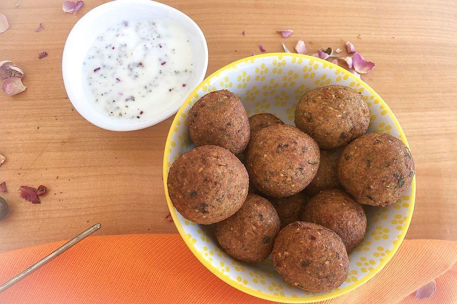 Falafel - Rezept | Gourmetköchin Petra Braun-Lichter