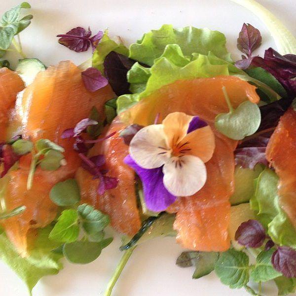 Gourmetmenü - Vorspeise | Gourmetköchin Petra Braun-Lichter
