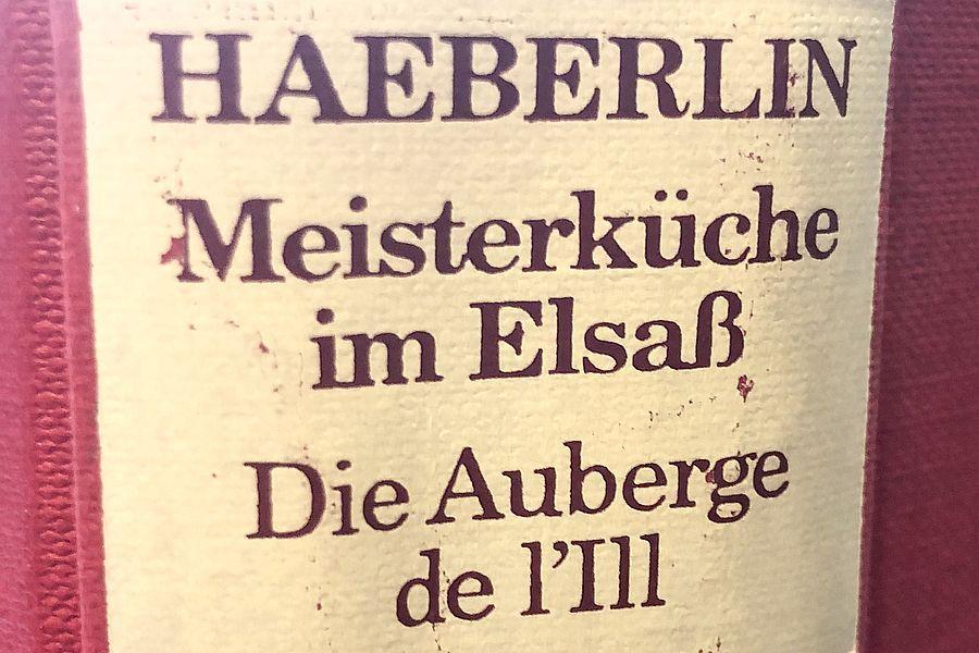 HAEBERLIN - Buchrücken | Gourmetköchin Petra Braun-Lichter