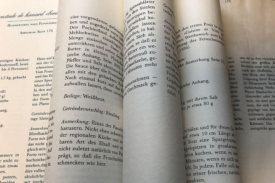 HAEBERLIN - Buchseiten | Gourmetköchin Petra Braun-Lichter