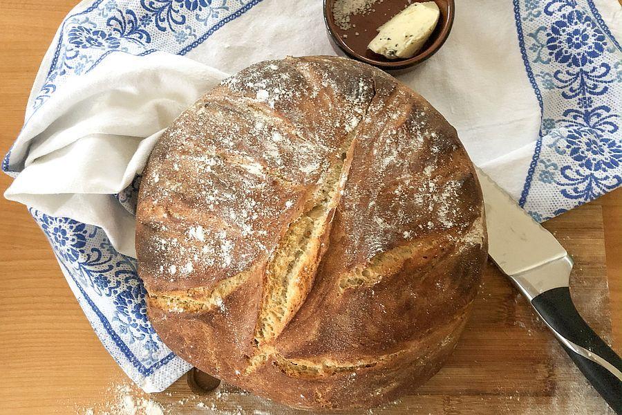 Hausbrot - Rezept | Gourmetköchin Petra Braun-Lichter