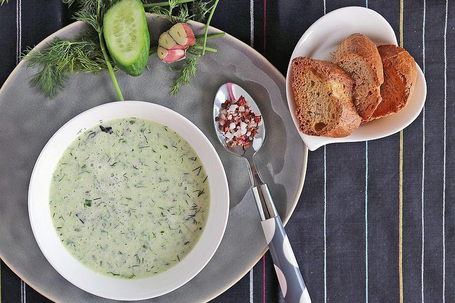 Gurkensuppe - Rezept | Gourmetköchin Petra Braun-Lichter