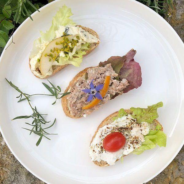 Snack - Rezepte von Gourmetköchin Petra Braun-Lichter