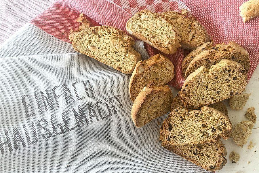 Dinkel-Cantuccini - Rezeptbild | Gourmetköchin Petra Braun-Lichter