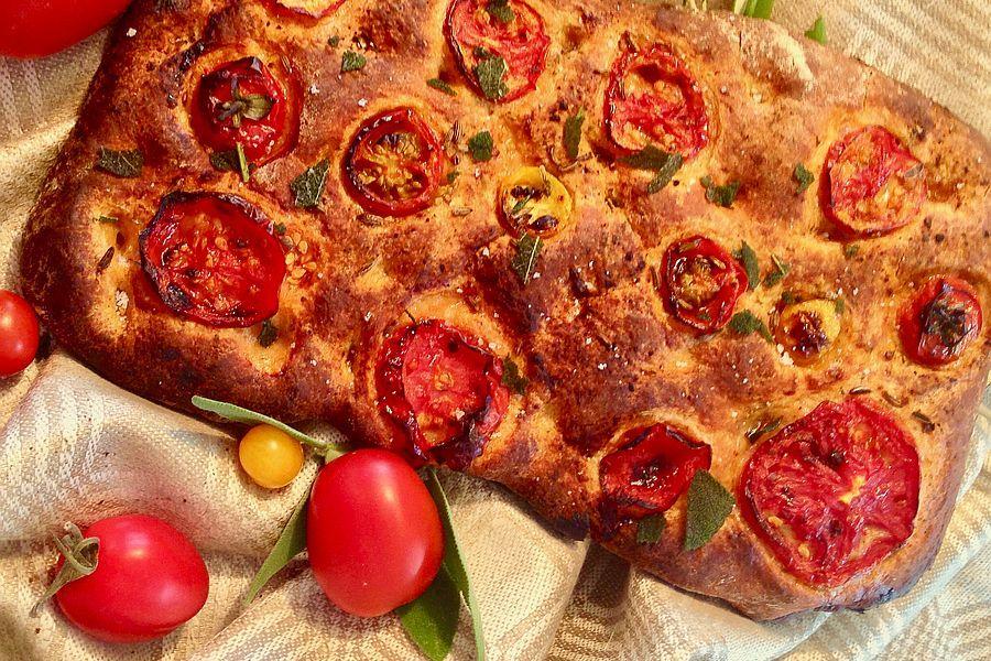 Focaccia - Rezeptbild | Gourmetköchin Petra Braun-Lichter