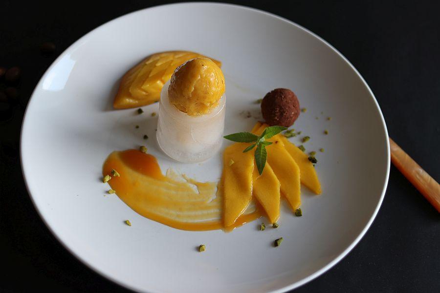 Mango-Bananeneis - Rezeptbild | Gourmetköchin Petra Braun-Lichter