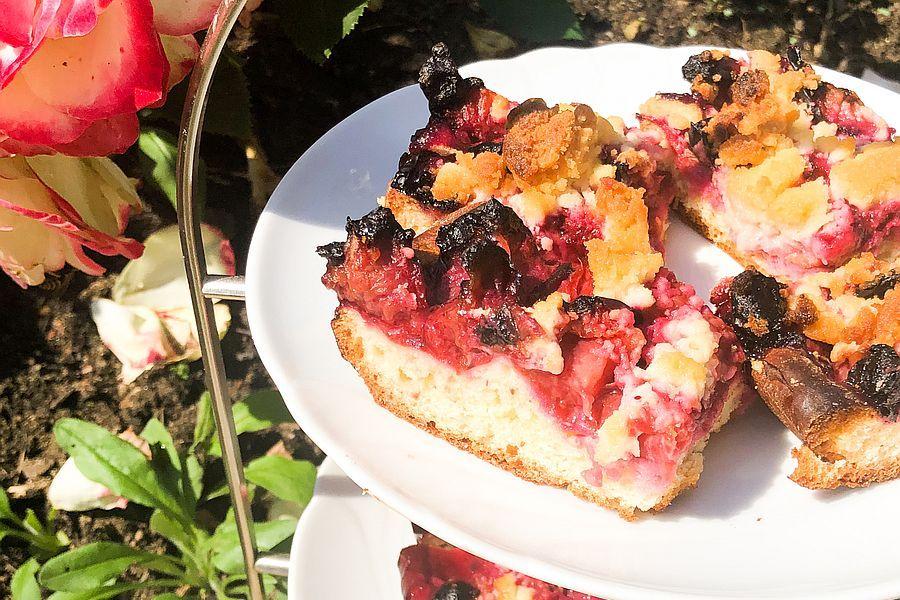 Zwetschgenkuchen - Rezeptbild | Gourmetköchin Petra Braun-Lichter