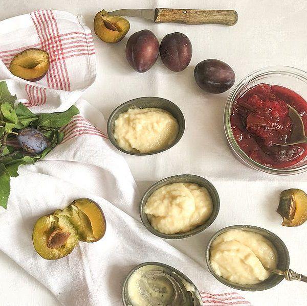 Grieß-Sahnepudding mit Zwetschgenröster - Rezeptbild | Gourmetköchin Petra Braun-Lichter