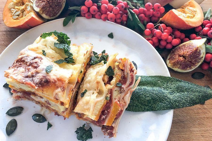 Kürbis-Lasagne - Rezeptbild | Gourmetköchin Petra Braun-Lichter