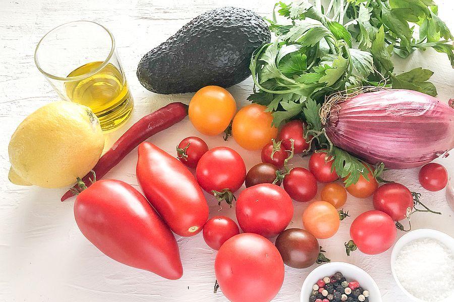 Tomaten-Avocadosauce - Rezeptbild | Gourmetköchin Petra Braun-Lichter