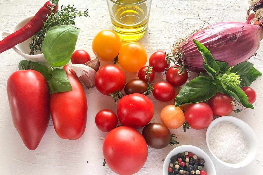 Tomatensauce - Rezeptbild | Gourmetköchin Petra Braun-Lichter