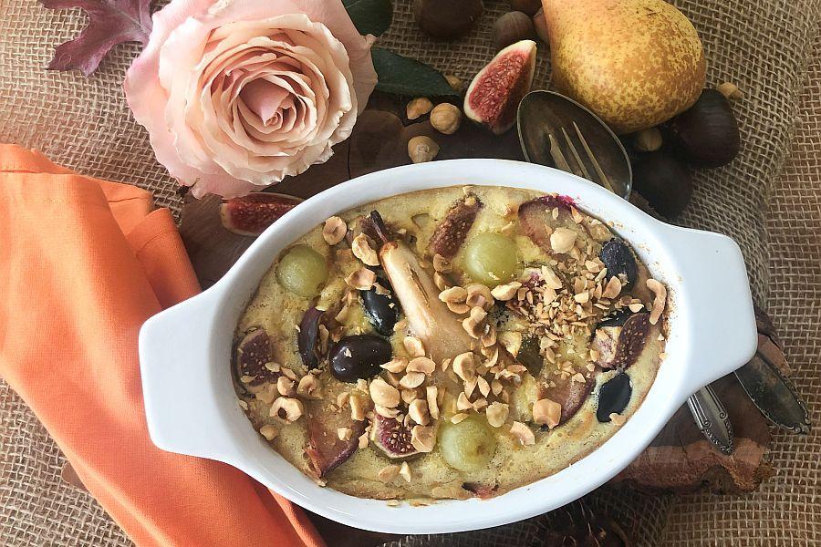 Gratin aus Birnen und Herbstfrüchten - Rezeptbild | Gourmetköchin Petra Braun-Lichter
