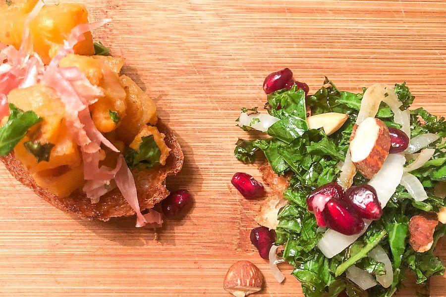 Crostini mit Grünkohl - Rezeptbild | Gourmetköchin Petra Braun-Lichter