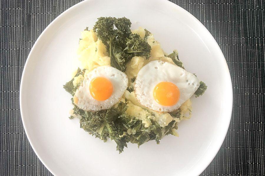 Kartoffelstrampf mit Grünkohl - Rezeptbild | Gourmetköchin Petra Braun-Lichter