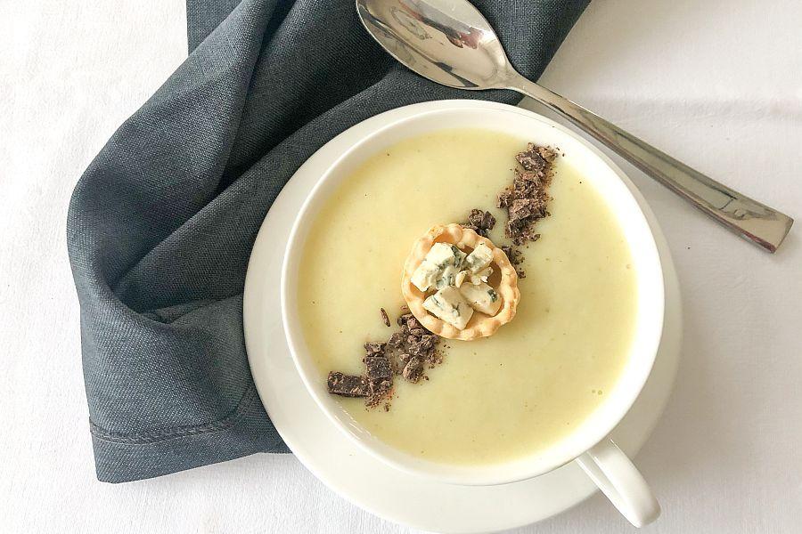 Suppe von Topinambur - Rezeptbild | Gourmetköchin Petra Braun-Lichter