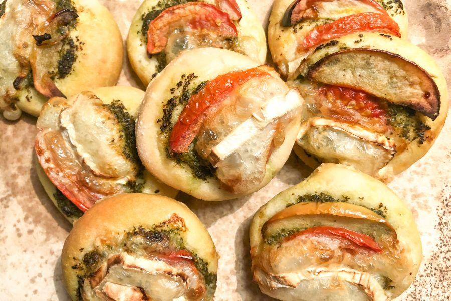 Minipizza - Rezeptbild | Gourmetköchin Petra Braun-Lichter